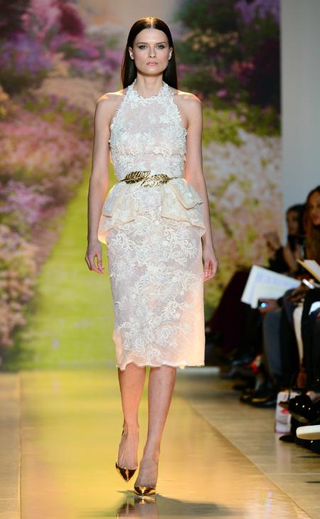 Designer wedding dress ideas from Couture fashion week - Zuhir Murah Prive Catwalk Show - Fashion and weddings - trends - handbag.com