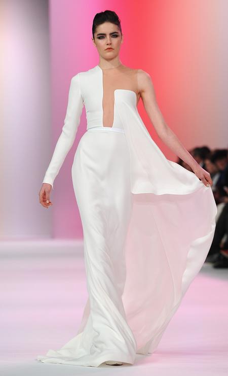 Designer wedding dress ideas from Couture fashion week - Stephane Rolland - modern wedding dress - Fashion and weddings - trends - handbag.com