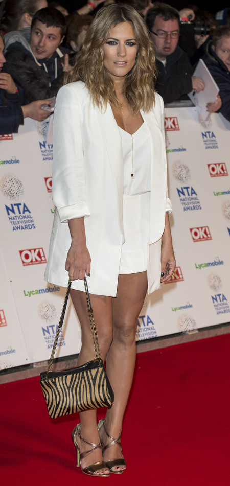 Caroline Flack at the National Television Awards 2014