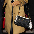 She's got The Voice and this Lanvin handbag