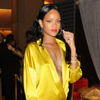 Rihanna ignores fashion rules...Again.