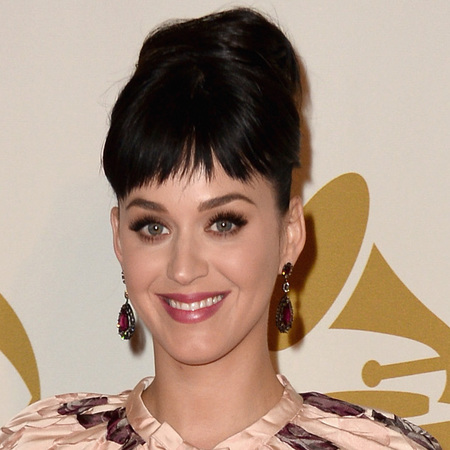 Katy Perry Dolce Gabbana dress - floral curtain dress - Beatles tribute concert 2014 - red carpet - handbag.com