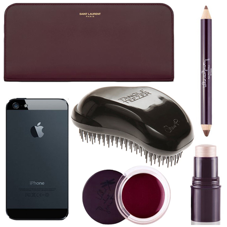 louise redknapp - beauty makeup essentials - whats in my handbag - handbag.com