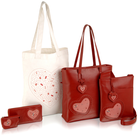 radley handbags for british heart foundation - red leather handbags - charity handbags - handbag.com