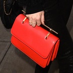 Kate Hudson's red bag. We need one.