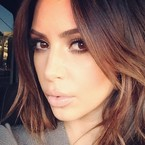 Kim Kardashian has gone back to her roots