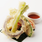 DIY Japanese vegetable tempura