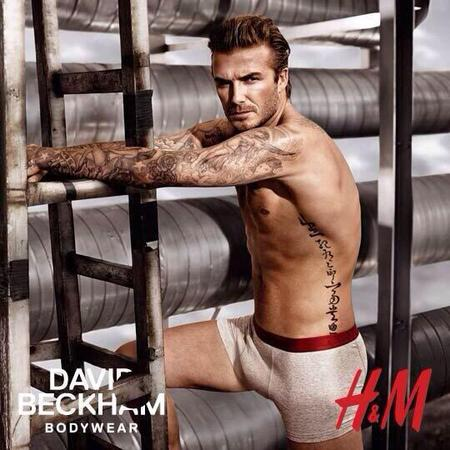 David Beckham in new H&M underwear advert shown at the Superbowl 2014 - David Beckham naked pics - David Beckham in pants - David Beckham photos - fashion news - shopping news - handbag.com