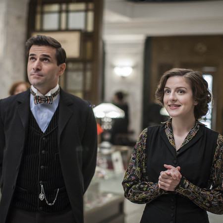 Mr Selfridge - itv - henri leclair and agnes - handbag.com