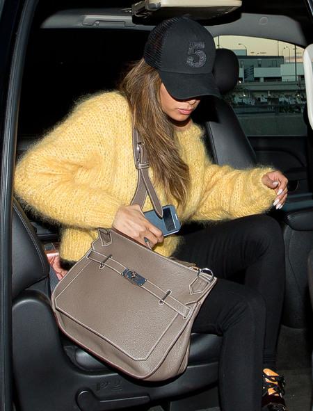 Nicole Scherzinger's Hermes Jypsiere Bag