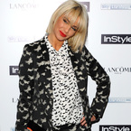 Sarah Harding does head-to-toe prints. Thoughts?