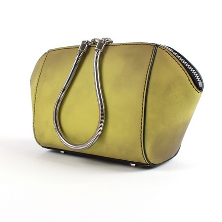 Alexander Wang colour change makeup bag - yellow - AW14 collection - futuristic fashion - handbag and beauty news - shopping bag - handbag.com