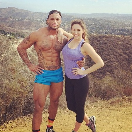 Kelly Brook's boyfriend David McIntosh wears too short shorts - penis shorts - celebrity relationships and fitness - celebrity news - handbag.com