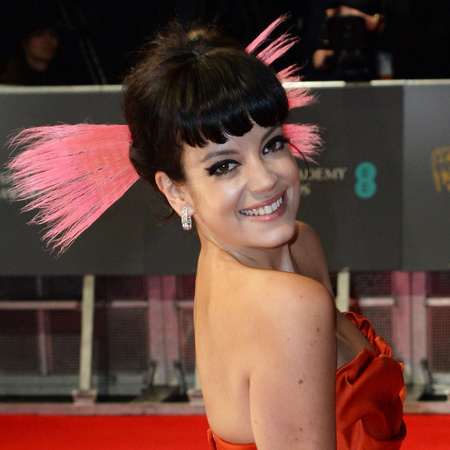 Hair and makeup at BAFTA Awards 2014