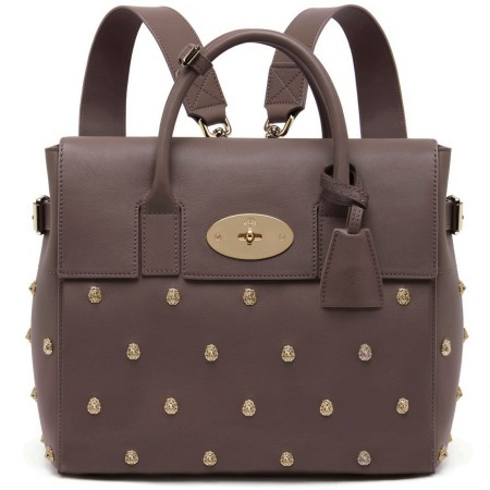 mulberry cara delevingne studded backpack bag - handbag.com