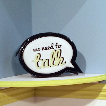 Sophia Webster's We Need To Talk clutch bag