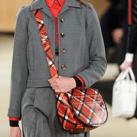 Designer handbags at New York Fashion Week Autumn/Winter 2014