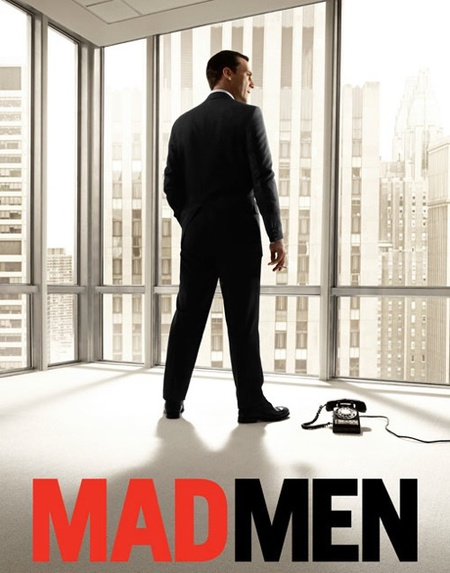 Mad Men TV poster 2010 - Same as Fifty Shades film poster - January Jones - Don Draper - Jon Hamm - movies and TV news - handbag.com