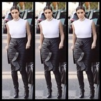 Kim, how much leather is too much leather?