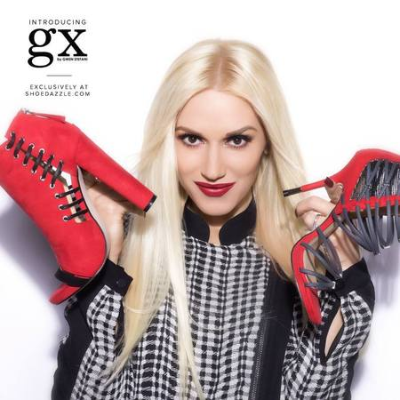 gwen stefani gx shoe and handbag collection - shoe dazzle celebrity accessories - red high heel shoes - handbag.com