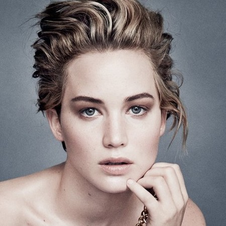 Jennifer Lawrence's new Dior adverts