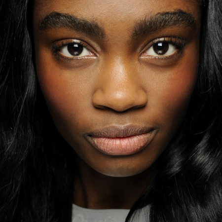 sibling makeup lfw aw14 - no mascara - makeup trends - handbag.com