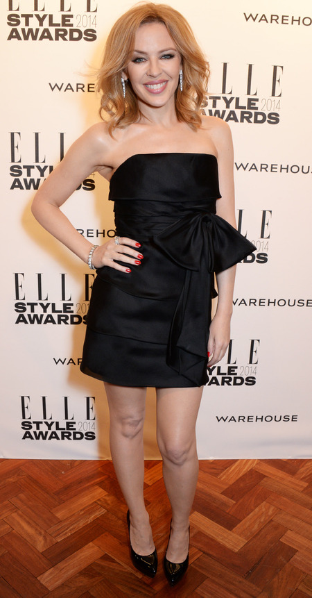 Kylie Minogue at the Elle Style Awards