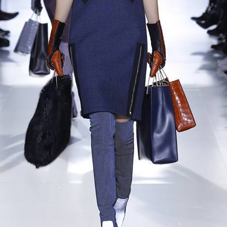 New designer handbags at Balenciaga AW14 catwalk show - Paris Fashion Week - supermodels - Alexander Wang - fashion and celebrity news - handbag.com