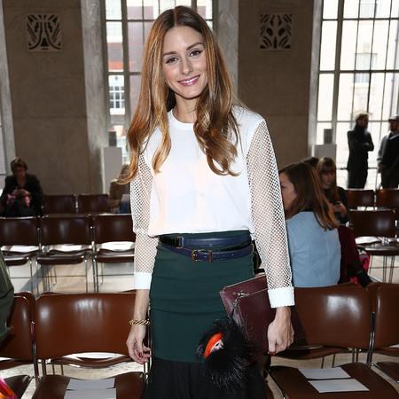 Olivia Palermo - NYFW - pom pom handbag trend - fendi monster - handbag.com