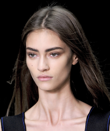 Calvin Klein - how to do the new straight hair styling - handbag.com