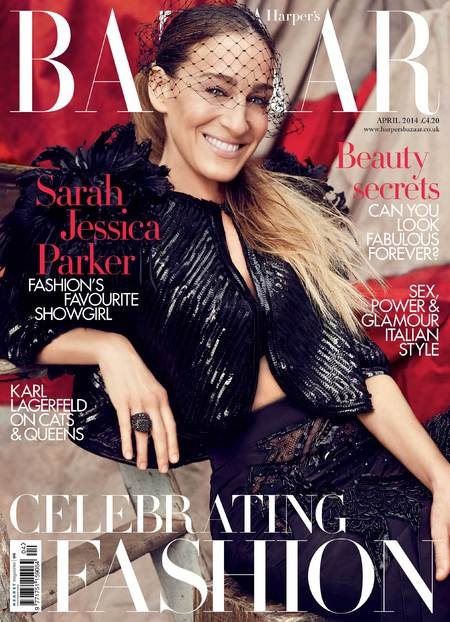 Sarah Jessica Parker for Harper's Bazaar - April Issue - Sarah Jessica Parker fashion interview - Sex and the City - cover image - celebrity news - handbag.com