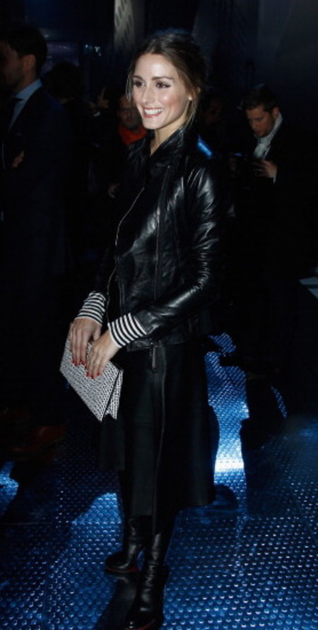 Olivia Palermo's Pochette du Soir Dior clutch