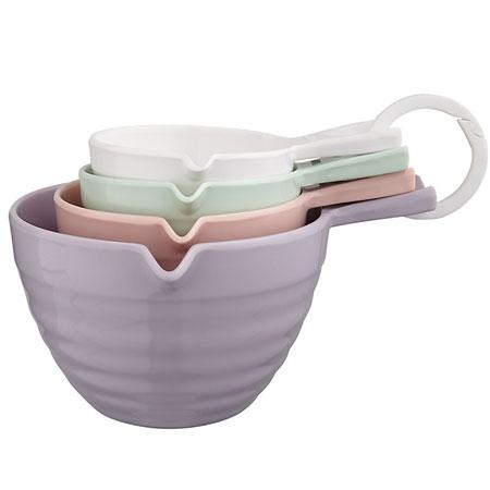 John Lewis Country Measuring Cups, Set of 4 - kitchen essentials - pancake day - handbag.com