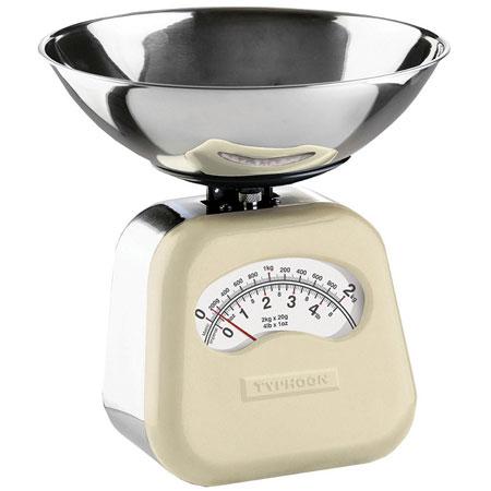 Typhoon novo cream mechanical scales - kitchen essentials - pancake day - handbag.com