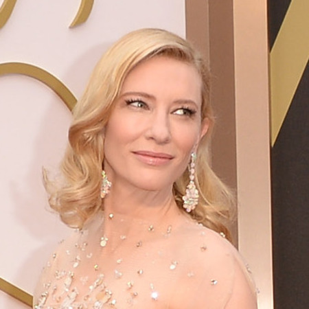 Cate Blanchett does nude makeup trend