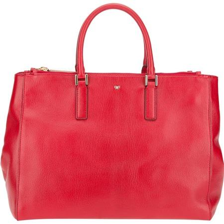 Dannii Minogue - Red Ebury Bag - Anya Hindmarch - handbag essentials - what's in my handbag - shopping news - interview - handbag.com