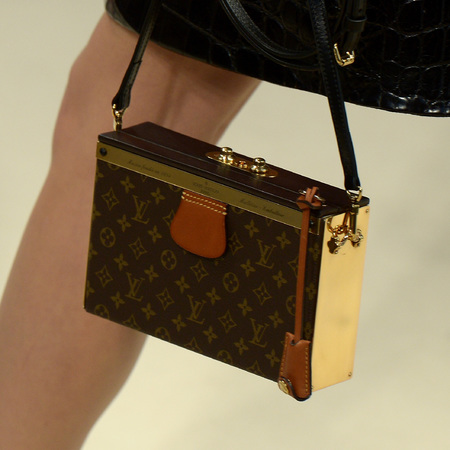 Louis Vuitton - monogram box handbag - paris fashion week - autmun/winter 2014 - handbag.com
