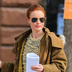 Kate Bosworth's gone ginger