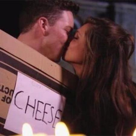 Diags and Fran get together - towie - kissing - handbag.com
