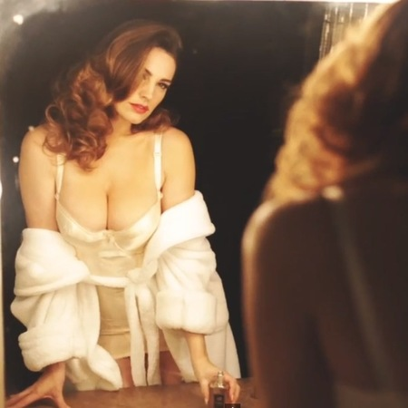 kelly brook perfume - audition video - celebrity perfume - handbag.com