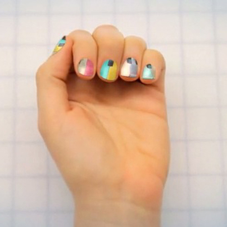 turn instagram prints into nail art - nail art design ideas - nailsnaps kickstarter app - handbag.com