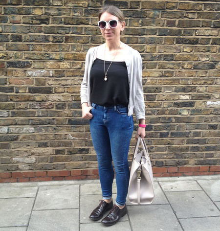 Fashion trend on trial - high waisted jeans - office - kate - handbag.com