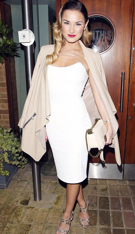 sam faiers chanel bag - kim kardashian white dress - towie fashio style - handbag.com