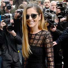 Cheryl Cole at X Factor return announcement - Cheryl Cole starts X Factor wardrobe - Cheryl Cole's ombre hair - celebrity fashion and beauty news - handbag.com