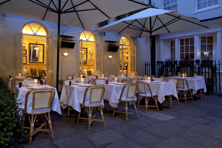 Boulestin restaurant review - London restaurant review - al fresco dining - going out - reviews - handbag.com