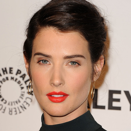 cobie smulders hot on the red carpet - orange lipstick trend - how i met your mother - handbag.com
