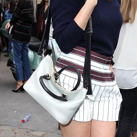 Gemma Arterton at Chloe show SS14 at Paris fashion week - Chloe Baylee bag - Chloe handbag gallery - shopping gallery - handbag.com