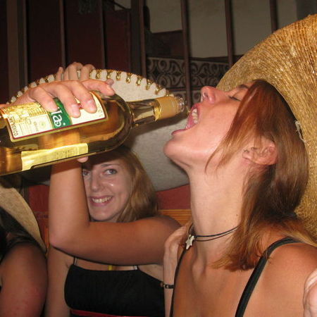 Woman drinking tequila - Mexican diet - tequila diet - alcohol and drinking - food news - handbag.com