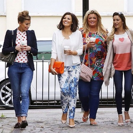 jessica wright sam faiers fearne mccann and gemma collins carrying designer handbags - towie style and fashion - handbag.com