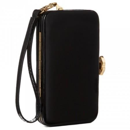 lulu guinness iphone clutch phone case - designer phone case trend - handbag.com